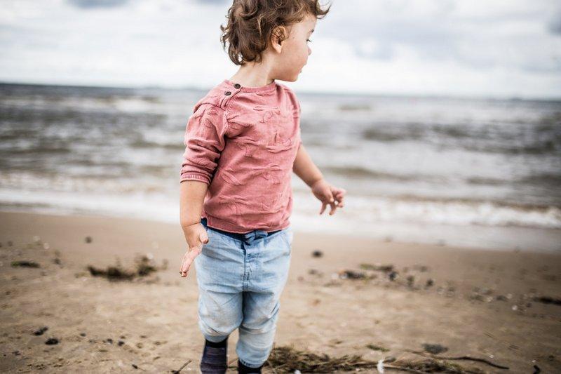 Domki nad morzem z dzieckiem